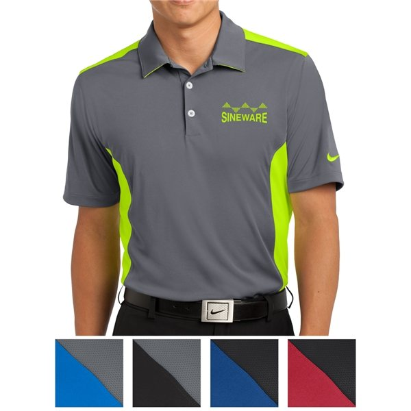 Promotional Nike Golf Dri - FIT Engineered Mesh Polo