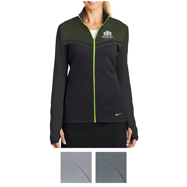 Promotional Nike Golf Ladies Therma - FIT Hypervis Full - Zip Jacket