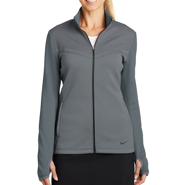 1fed3a1567c8 ... Promotional Nike Golf Ladies Therma - FIT Hypervis Full - Zip Jacket