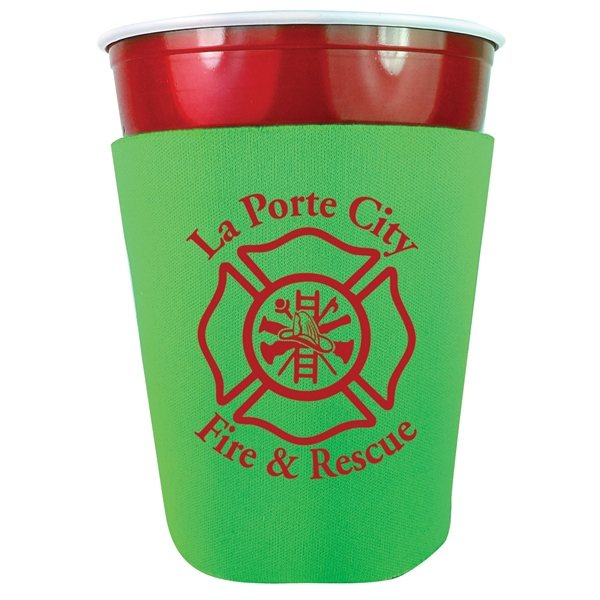 Promotional Party Cup Coolie (Made in USA)