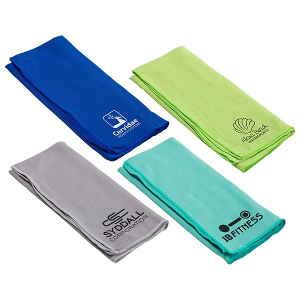 Promotional Eclipse Copper - Infused Cooling Towel