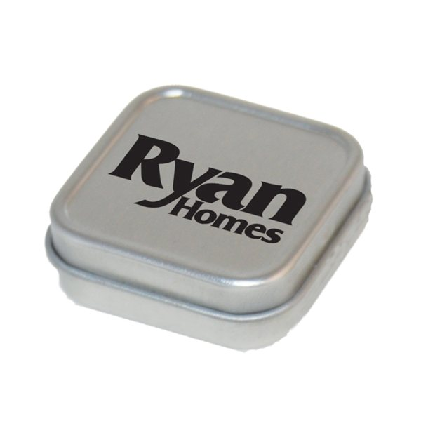 Promotional Square Mint Tin