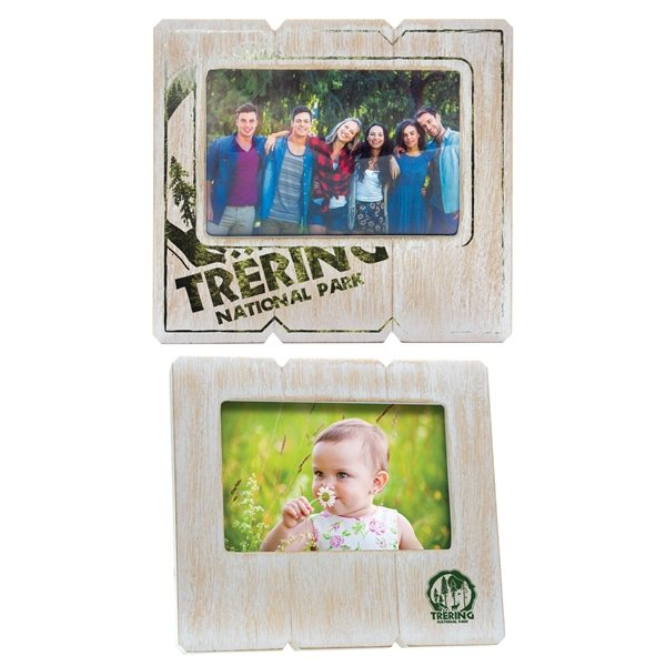 Promotional 6 x 4 Distressed Wood Frame