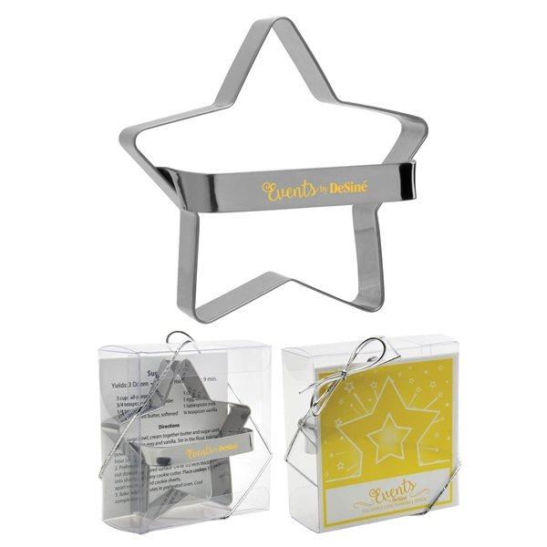 Promotional Metal Star Cookie Cutter