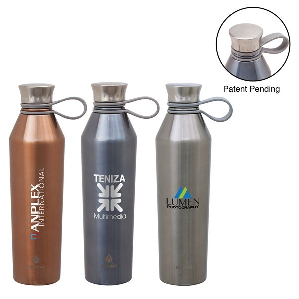 Promotional Manna(TM) 25 oz Haute Steel Bottle