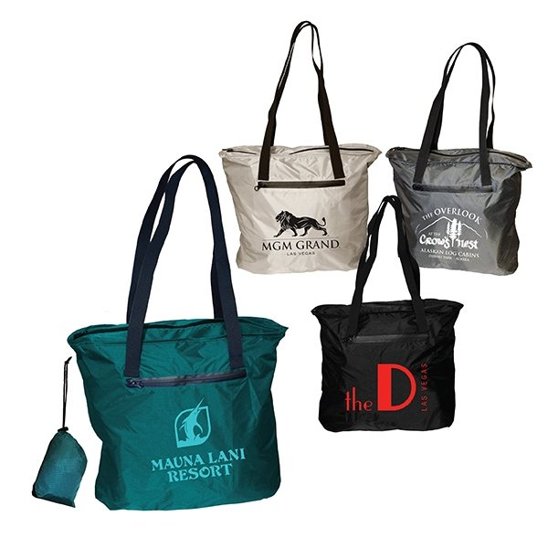Promotional Otaria(TM) Packable Tote Bag