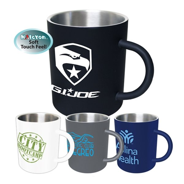Promotional 15 oz Halcyon(TM) Coffee Mug