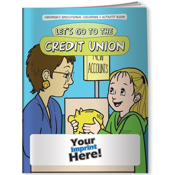 Promotional Coloring Book - Lets Go To The Credit Union