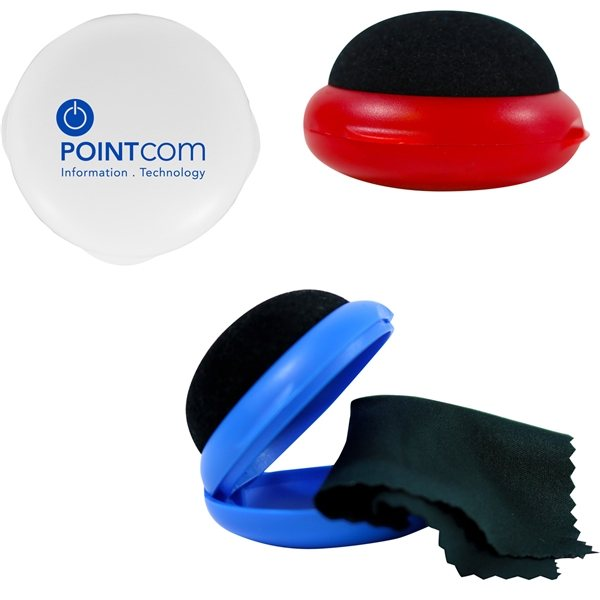 Promotional Clammy Screen Cleaner Microfiber Cloth