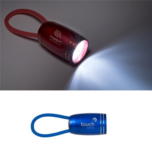 Promotional 6 LED Aluminum Loopy Light