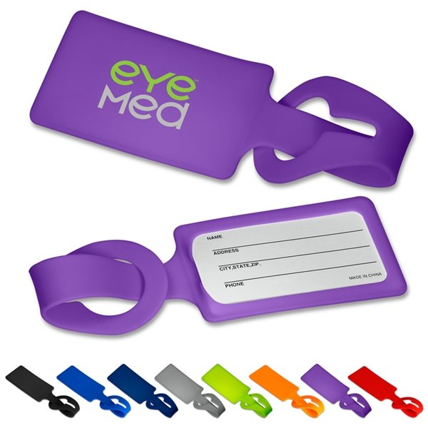 Promotional Silicone Luggage Tag