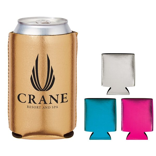 Promotional Metallic Kan - Tastic Can Coolie