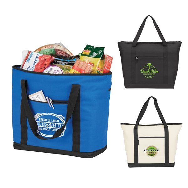 Promotional Jumbo Cooler Tote