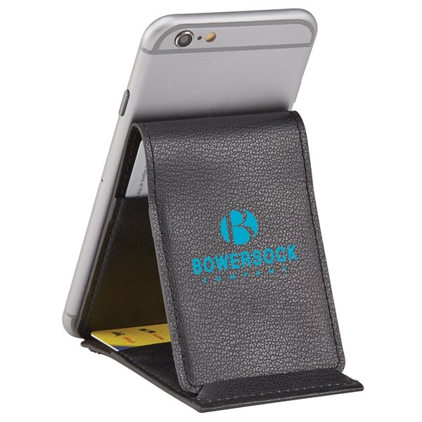 Promotional Smartphone Wallet Stand - Trifold EXEC