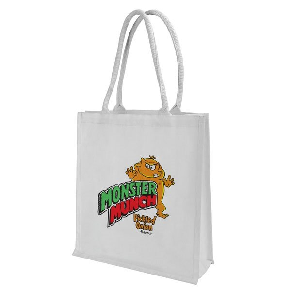 Promotional Laminated Cotton Canvas Tote Bag