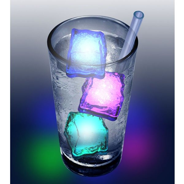 Promotional Frosty LED lighted ice cube