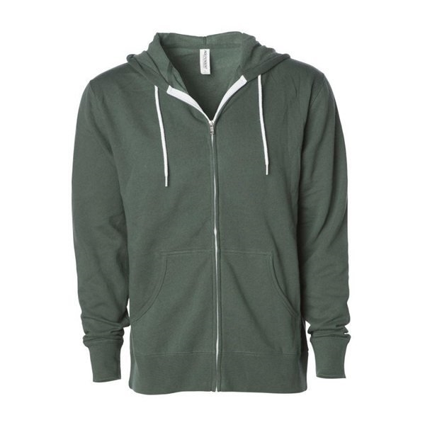 Promotional Independent Trading Co. Unisex Zip Hooded Sweatshirt