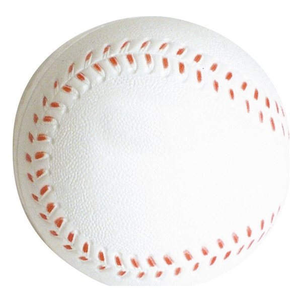 Promotional Slow Return Foam Baseball Squeezies Stress Reliever