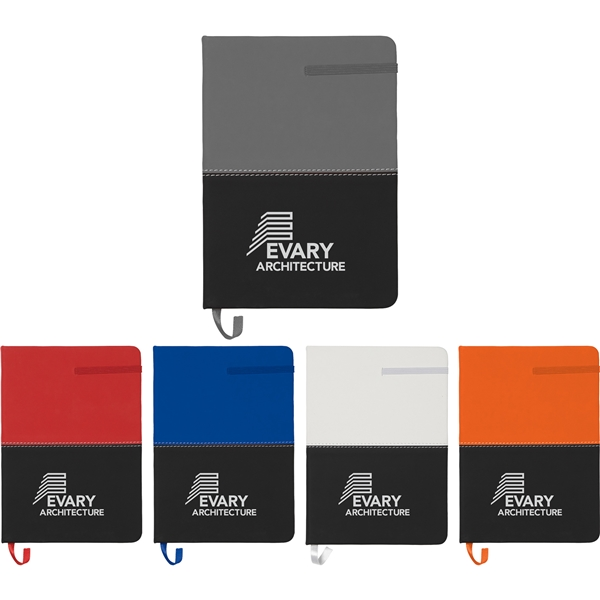 Promotional 5x 7 Color Block Notebook