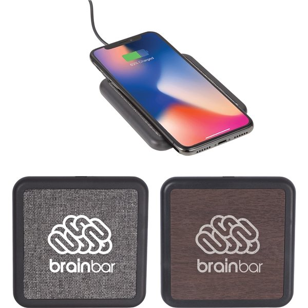 Promotional Solstice Wireless Charging Pad