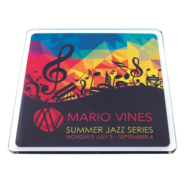 Promotional Square Acrylic Coaster
