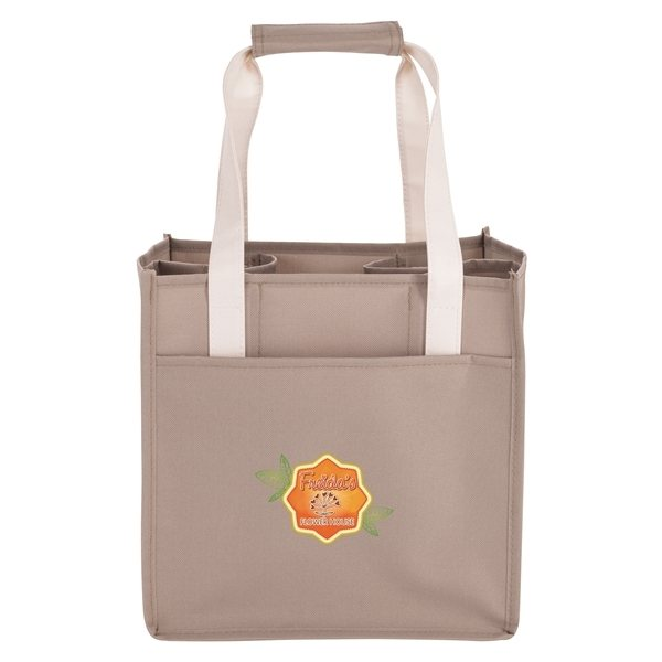 Promotional 4- Bottle Wine Tote