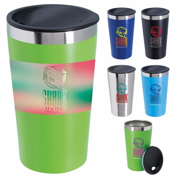 Promotional 16 oz Double Wall Stainless Steel Tumbler