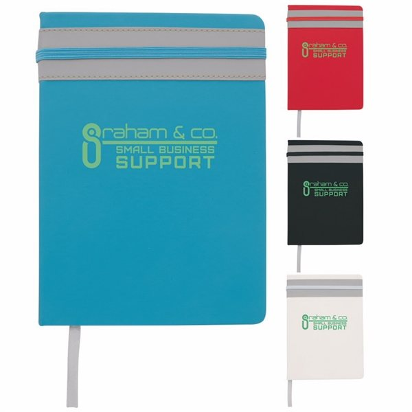 Promotional Elastic Stripe Journal
