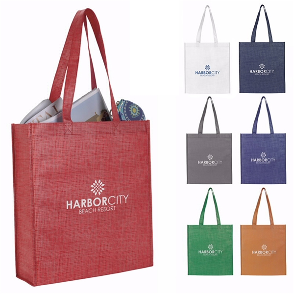 Promotional Non - Woven Shimmer Tote