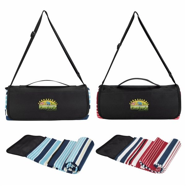 Promotional Shoulder Belt Picnic Blanket