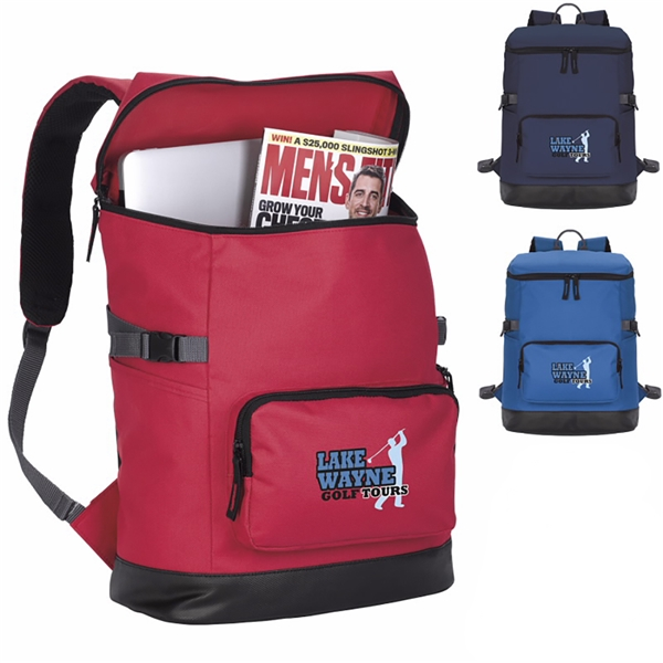Promotional Easy Open Backpack