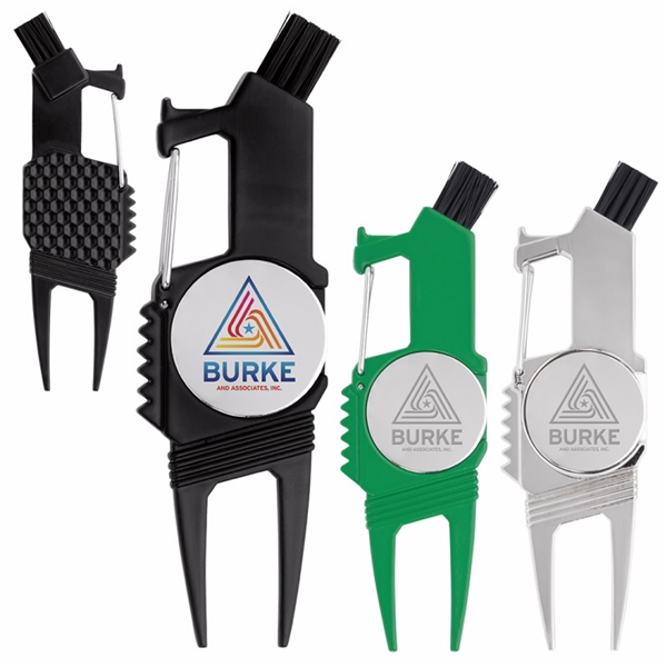 Promotional Rugged 7- in -1 One Golf Tool