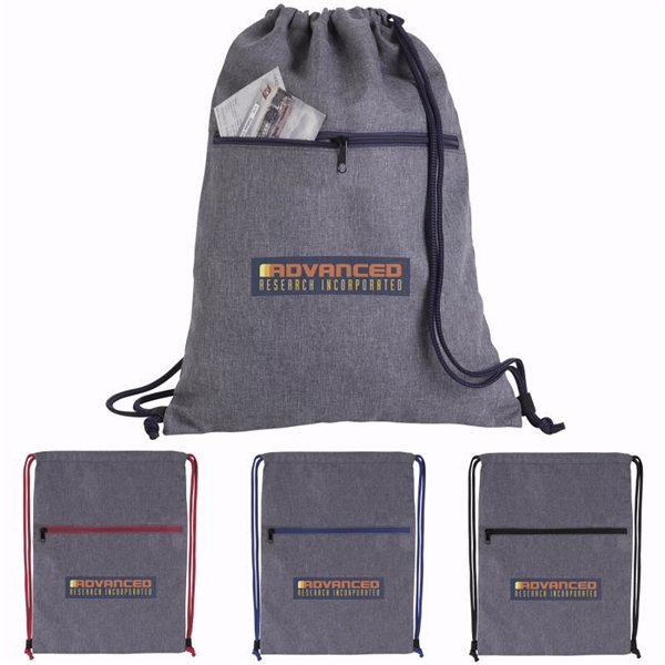 Promotional Dovetail Two - Tone Drawstring