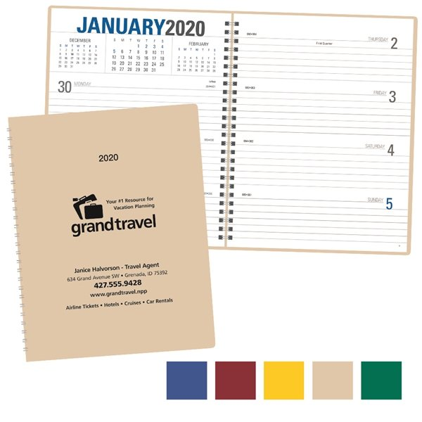 Promotional Stylish Weekly Planner