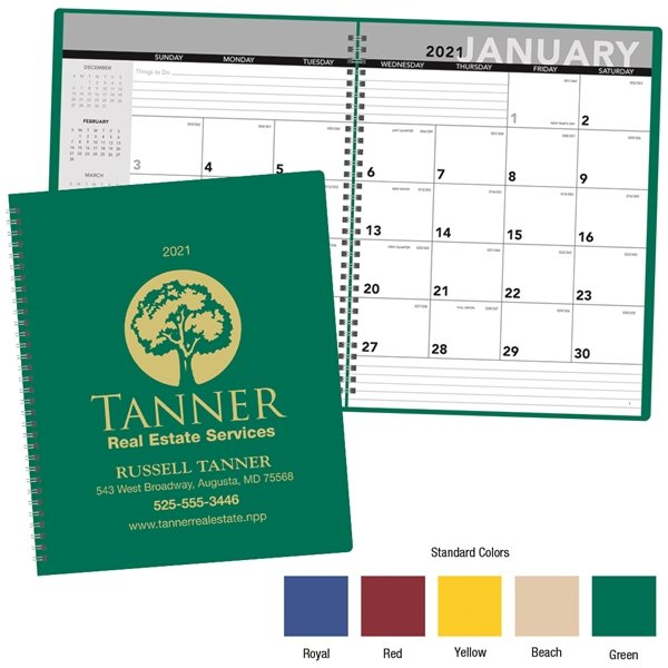 Promotional Modern Monthy Planner