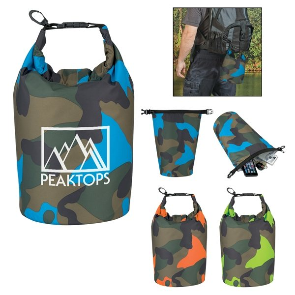 Promotional Camo Waterproof Dry Bag