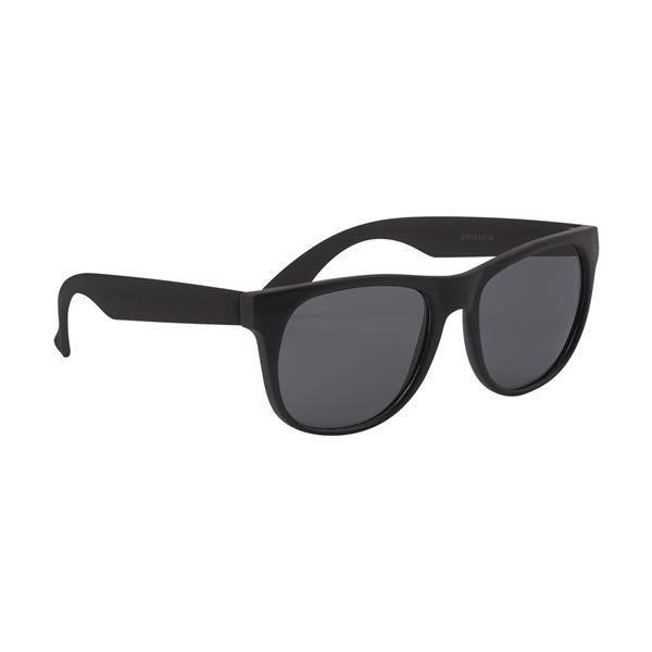 Promotional Youth Rubberized Sunglasses