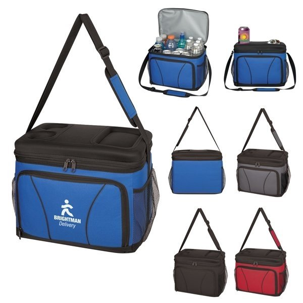 Promotional Chill - Out Molded Top Cooler Bag
