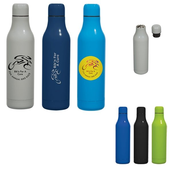 Promotional 18 oz Aya Stainless Steel Bottle