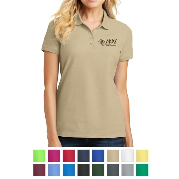 Promotional Port Authority(R) Ladies Core Classic Pique Polo