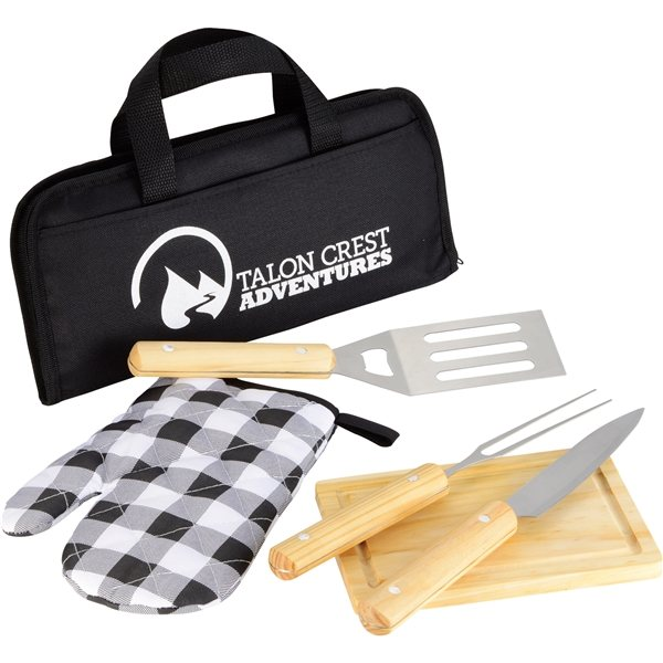 Promotional Five Piece Barbeque (BBQ) Set