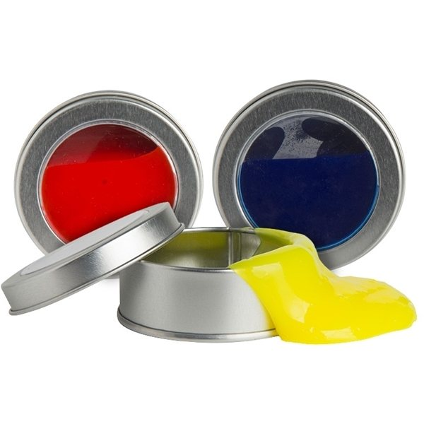 Promotional Anti - Stress Slime in a Tin