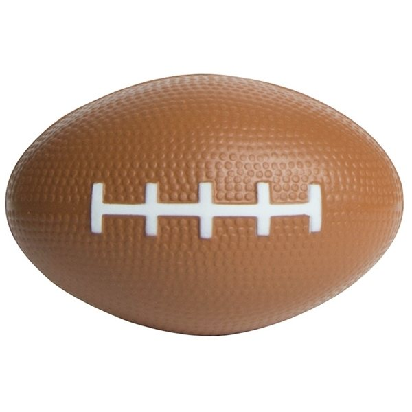 Promotional Slow Return Foam Football Squeezies Stress Reliever