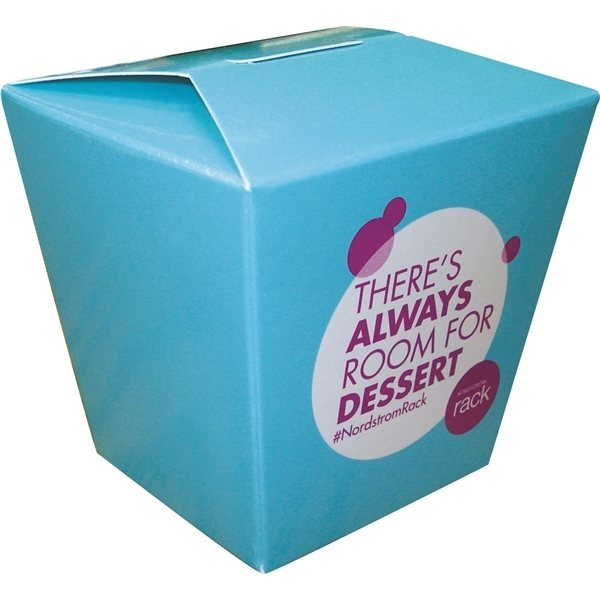 Promotional Full Color Small Chinese Take - Out Style Box