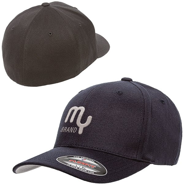 Promotional Flexfit(R) Wool Blend Fitted Cap