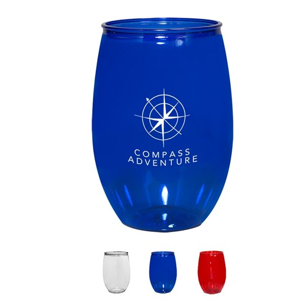 Promotional 16 oz Stemless Wine Glass