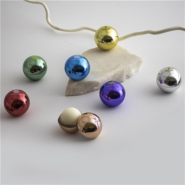 Promotional Metallic Lip Balm Ball