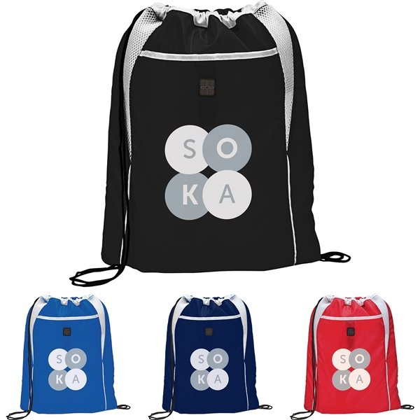 Promotional Dart Drawstring Bag