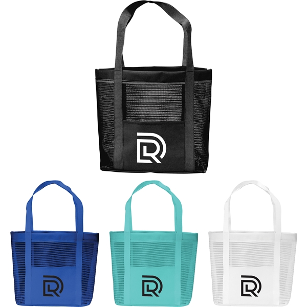 Promotional Magic Lined Mesh Tote Bag