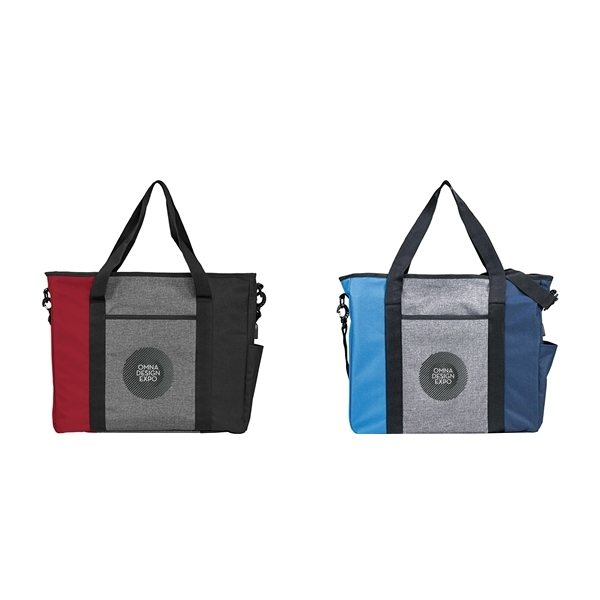 Promotional Triad Zippered USB Tote